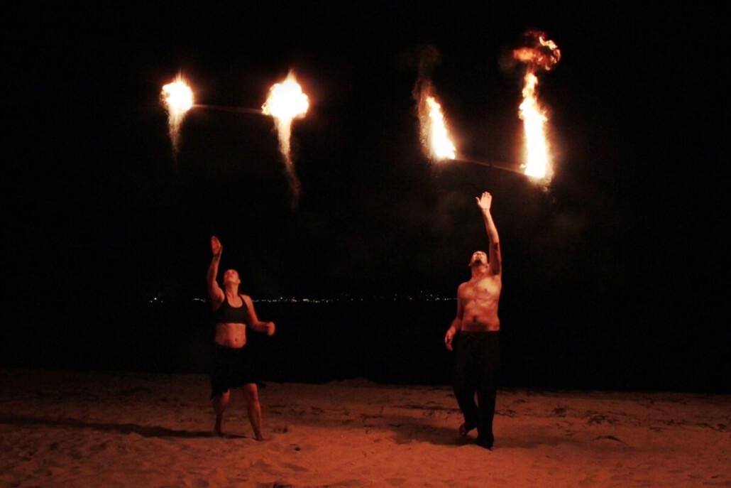 Feuershow - Weltentor