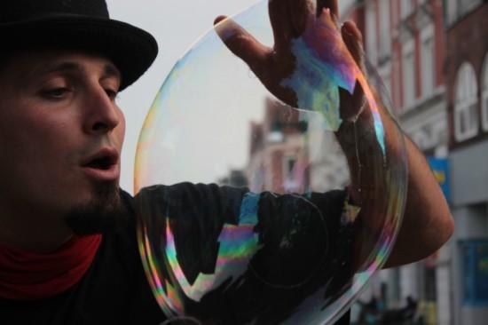Seifenblasen - Weltentor